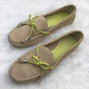 Cole Haan Shoes - Cole Haan   Grant Sandstone Suede Slip-on Loafers